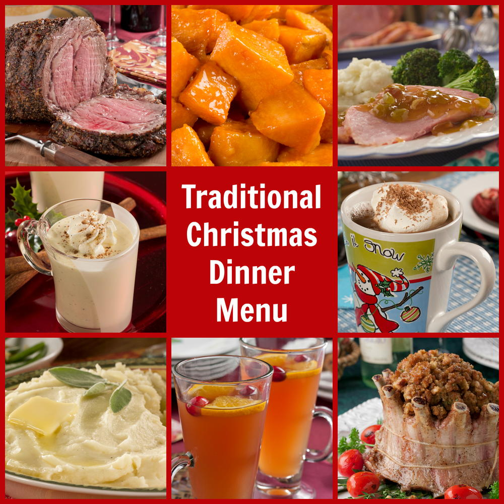 Traditional christmas dinner menu mrfood forumfinder Image collections