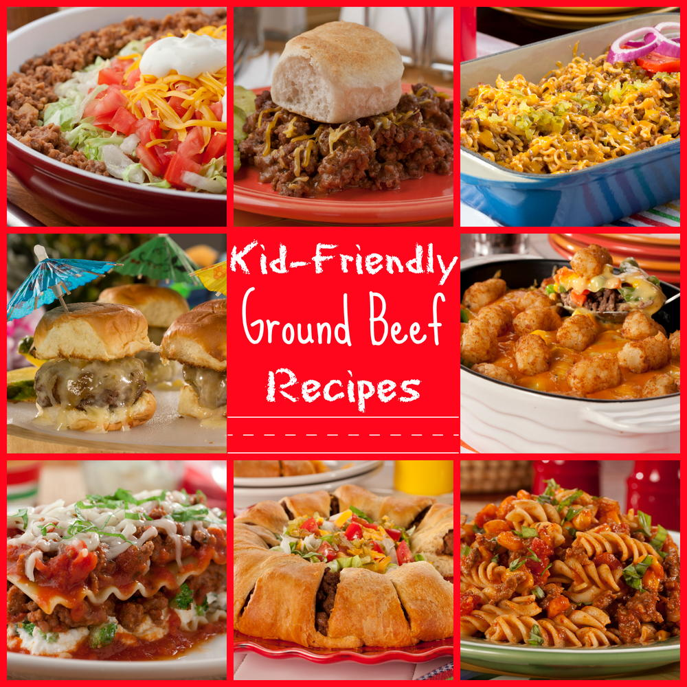 25 kid-friendly ground beef recipes | mrfood