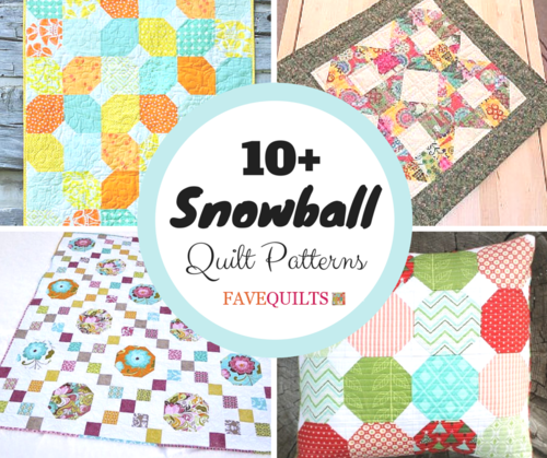 Quilt Patterns Snowball Block : How to Make a Quilt: 10+ Snowball Quilt Patterns FaveQuilts.com