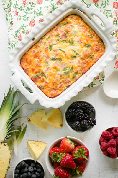 Farmer's Breakfast Casserole