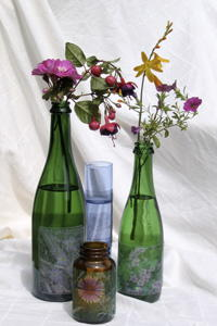 Extraordinary Vase Craft With Recycled Glass