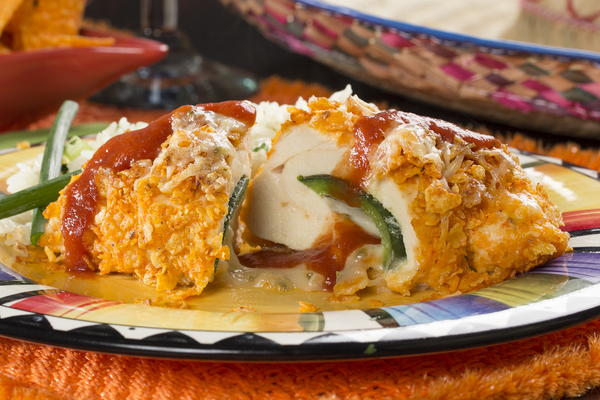Chicken Chile Relleno Pies Recipe — Dishmaps