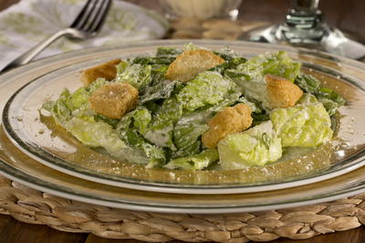 Lighter Caesar Salad