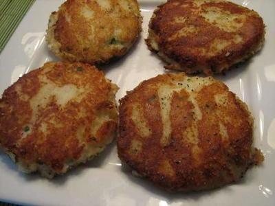 Chive Potato Cakes