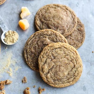Chewy Ginger Orange Cookies   RecipeLion.com