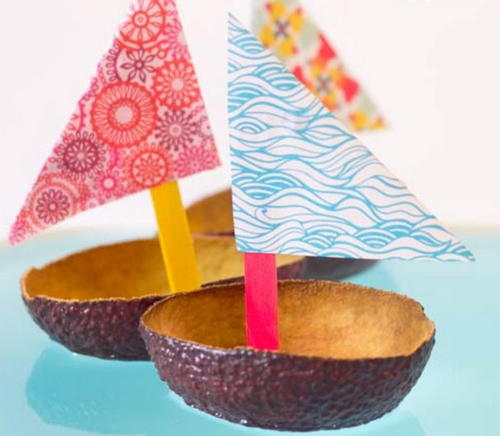 Avocado Boat Craft