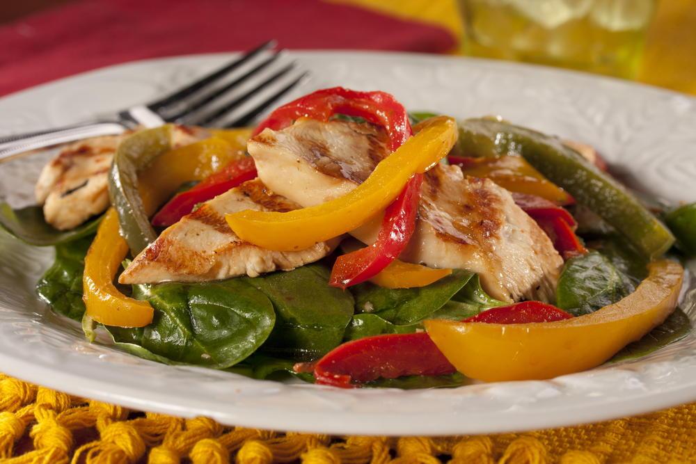 Chicken And Pepper Trio Everydaydiabeticrecipes