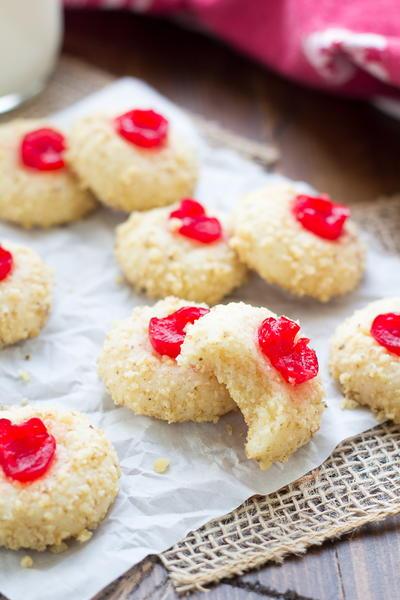 Cherry Cream Cheese Cookies | RecipeLion.com
