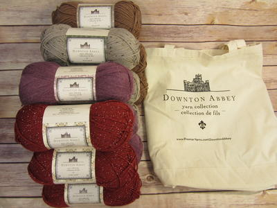 Downton Abbey Yarn Collection and Tote