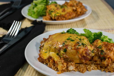 Healthy and Easy Chicken Casserole