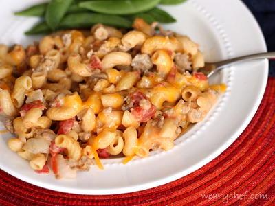 Quick and Easy Skillet Cheeseburger Macaroni | RecipeLion.com