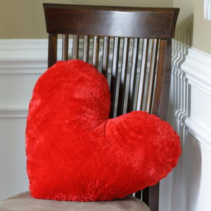 Valentines Heart DIY Pillow