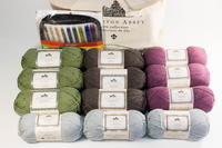 Downton Abbey Yarn and Knitting Needles Collection