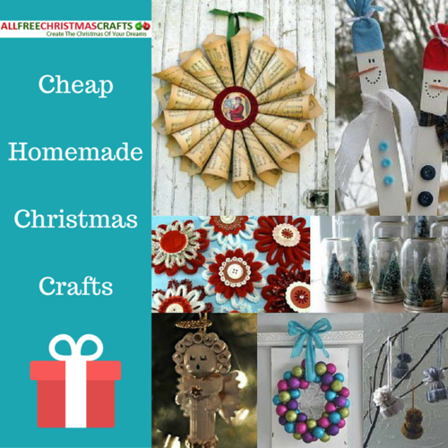 49 cheap homemade christmas crafts for Inexpensive craft ideas