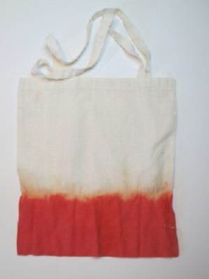 Dip Dyed Canvas Tote