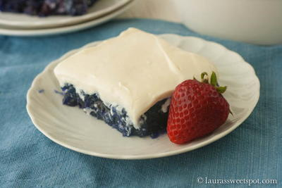 Retro Blueberry Jello Salad