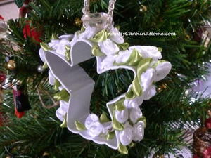 Rose Angel DIY Ornament