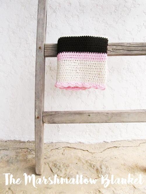 Marshmallow Crochet Baby Blanket Pattern Free : Marshmallow Dreams Crochet Baby Blanket AllFreeCrochet.com