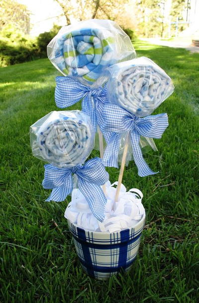 Baby shower gift bouquet allfreeholidaycrafts