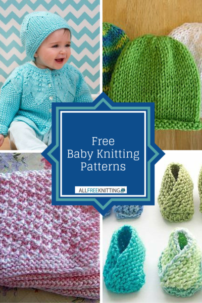 Free Online Baby Knitting Patterns : 73 Free Baby Knitting Patterns AllFreeKnitting.com
