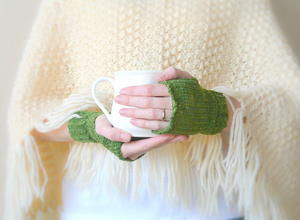 Prairie Winds Fingerless Mitts