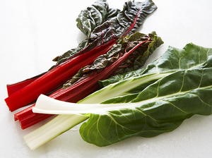 Swiss Chard and Arugula Salad