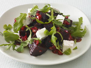 Roasted Beet and Feta Salad