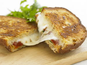 Fried Mozzarella Panini