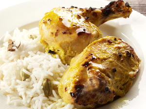 Indian Garlic Chicken