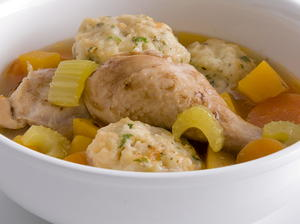 Chicken Stew with Herb Dumplings