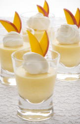 Mango and Orange Mousse
