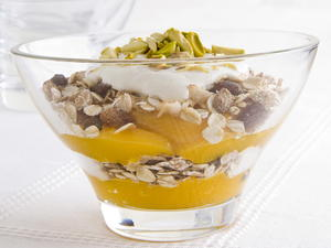 Apricot and Yogurt Parfait