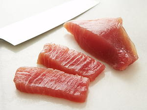 Ribbons of Tuna with Ginger Marinade