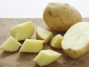 Potatoes Roasted with Garlic Cloves