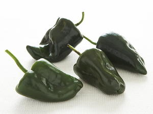 Note on roasting chiles and bell peppers