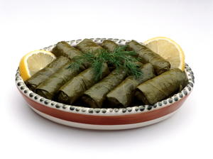 Vegetarian Stuffed Grape Leaves