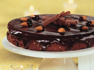 Almond Chocolate Coconut Torte