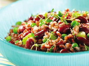 Red Beans and Red Rice