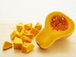 Pureed Butternut Squash with Ginger