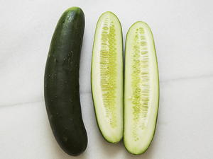Cucumbers in Black Rice Vinegar