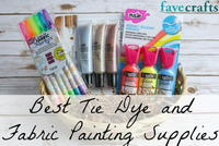 12 of the Best Tie Dye and Fabric Painting Supplies
