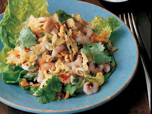 Chilled Maine Shrimp with Cabbage and Peanuts, Vietnamese-Style