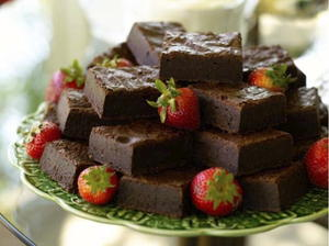 Kathleen's Wheat-Free Fudge Brownies