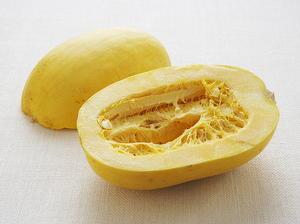 Spaghetti Squash with Butter and Parmesan