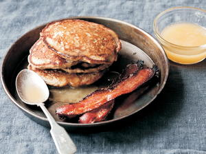 Pear and Buckwheat Pancakes