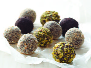 Grown-Up Chocolate Bourbon Balls