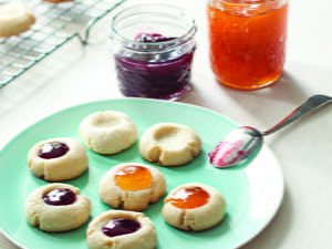 Jammin' Sugar Cookie Thumbprints