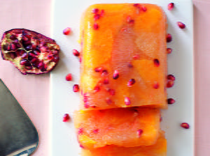 Citrus Pomegranate Terrine