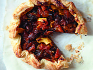 Rustic Dried Fruit Tart