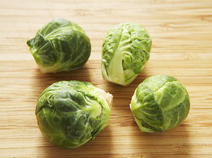 Shaved Raw Brussels Sprouts with Castelrosso
